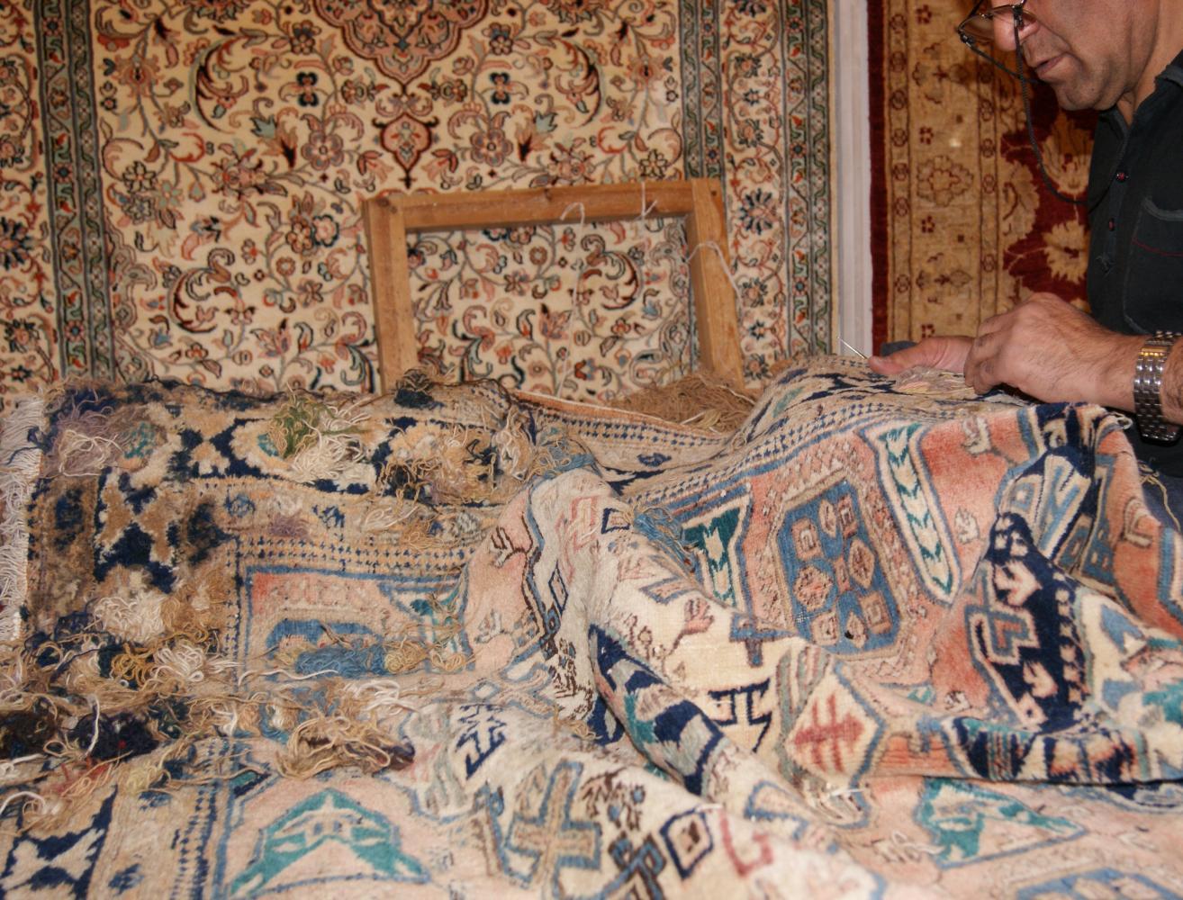 Rug Repairs | Persian, Oriental Rug